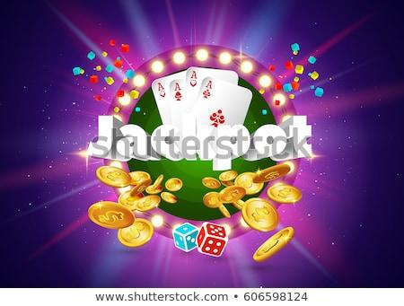 Győzelem pénz rulett üzlet siker vektor Stock fotó © robuart