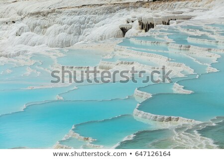 Pamukkale exotic pearl of Turkey Stock photo © grafvision