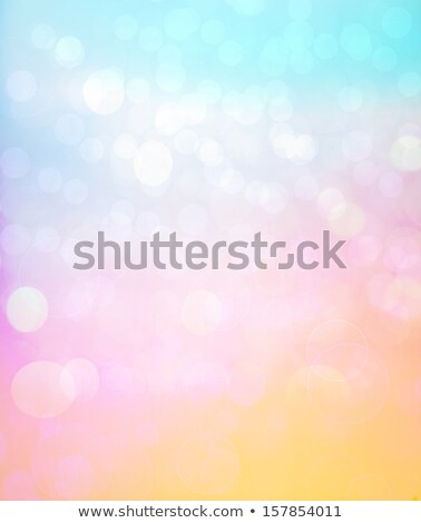raining cloud with flowing rainbow background design Stock photo © SArts