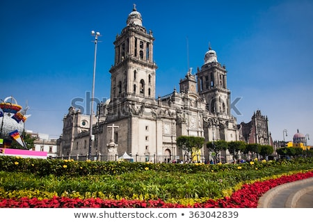 Metropolitan Cathedral in Mexico City Stock photo © benkrut