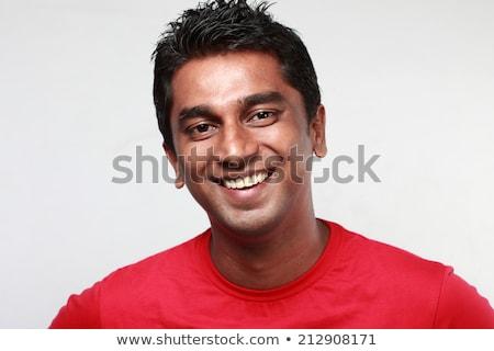 Portré ázsiai férfi igazgató áll iroda Stock fotó © wavebreak_media