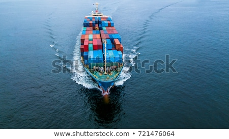 Delivery and Shipping of Cargo on Construction Stock photo © robuart