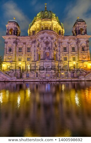 The backside of the Berlin Cathedral  Stock photo © elxeneize