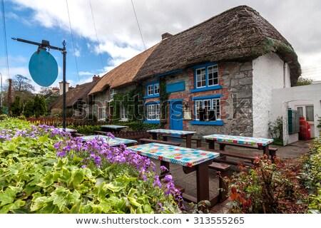 Rue Irlande lumineuses maisons maison mur Photo stock © borisb17