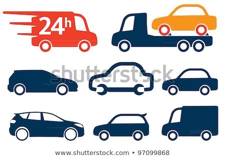 Cars simply icons Stock photo © ayaxmr