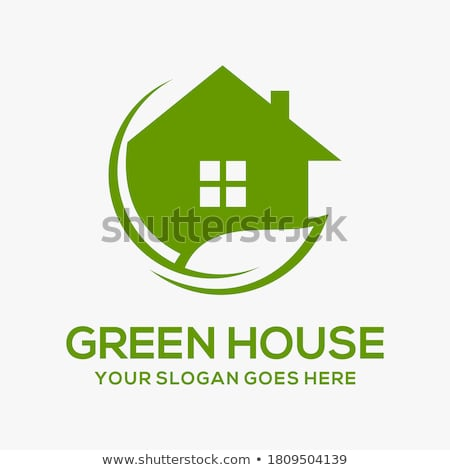 Eco house abstract concept vector illustration. Stock photo © RAStudio