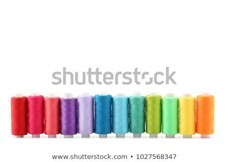 ミシン · 複数 · 色 · ボックス · 孤立した - ストックフォト © tetkoren
