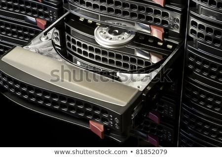open hard disk in hot swap frame Stock photo © gewoldi