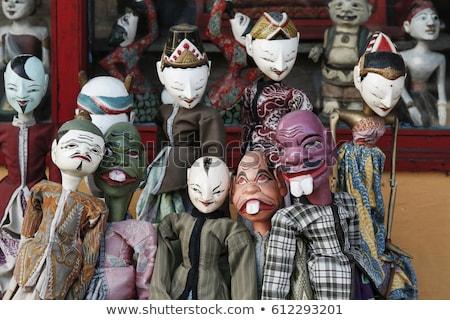 Fantoche bali Indonésia tradicional Foto stock © travelphotography