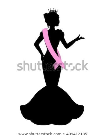 woman shape with beauty contest Stock photo © ssuaphoto