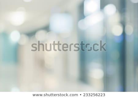 branco · azul · moderno · futurista · abstrato · ondas - foto stock © anna_om