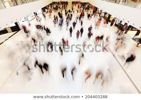 Foto d'archivio: Shopping · centro · scala · mobile · persone · movimento