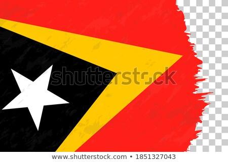Гранж флаг старые Vintage гранж текстур кадр Сток-фото © HypnoCreative