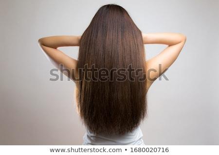 női · meztelen · divat · meztelen · szépség · fenék - stock fotó © Nobilior