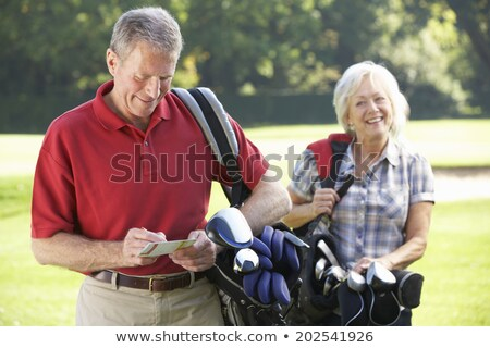 couple game golf Stock photo © photography33