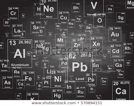 periodic table of the elements Stock photo © Kaludov