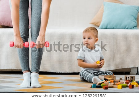 Partial view into a living room Stock photo © 3523studio