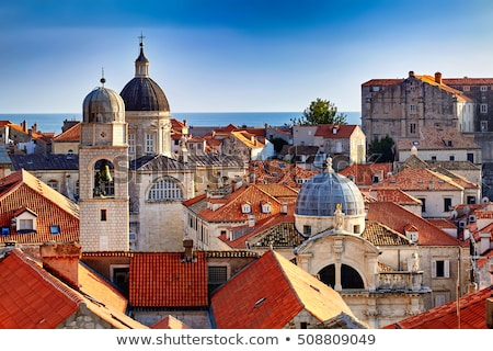The Old Town of Dubrovnik, Croatia Stock photo © vlad_star