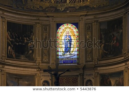 Stained glass in Pisa Stock photo © ifeelstock
