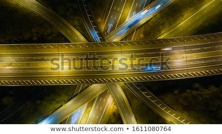 Freeway Overpass Stock photo © cteconsulting