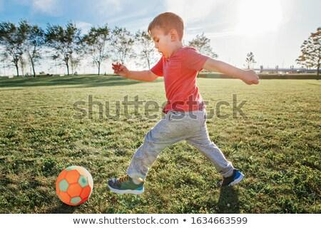 fiúk · rúg · futballmeccs · fiatal · fut · fű - stock fotó © diego_cervo