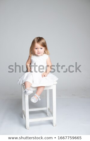 Blonde cutie with amazing smile Stock photo © konradbak