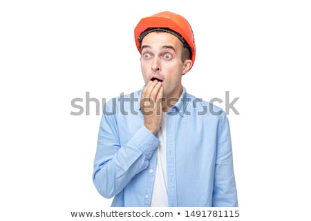 Scared builder Stock photo © photography33