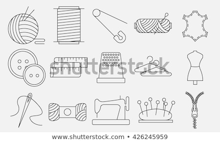 Sewing things Stock photo © zzve
