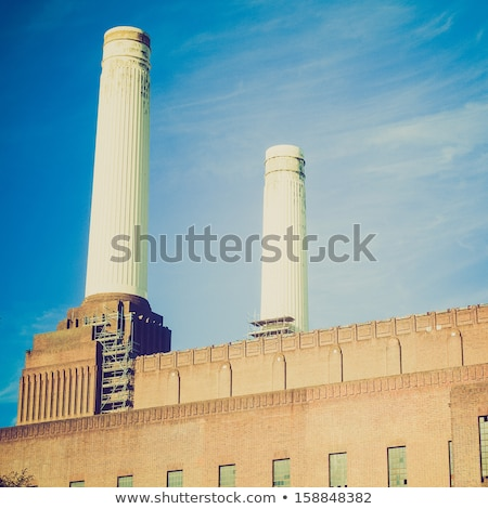 Лондон · электростанция · Англии · здании · город · дизайна - Сток-фото © claudiodivizia