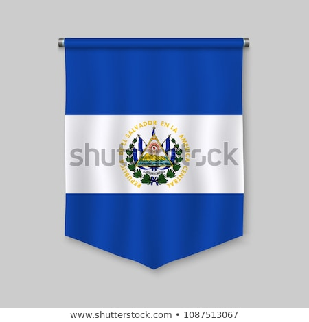 Football with flag of el salvador Stock photo © MikhailMishchenko
