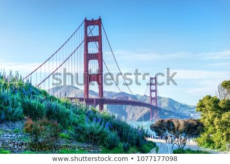 Photo stock: Golden · Gate · Bridge · San · Francisco · Californie · USA · ciel · ville