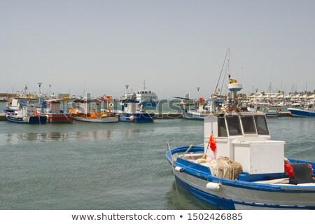 Santa Pola port marina in Alicante Spain Stock photo © lunamarina