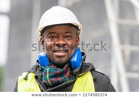 молодые · работник · стороны · строительство · технологий · очки - Сток-фото © andreypopov