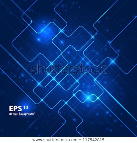 Idea concept. Dark blue background. Stock photo © hasloo