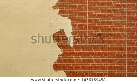 Mitad blanco pared resumen fondo piedra Foto stock © tepic