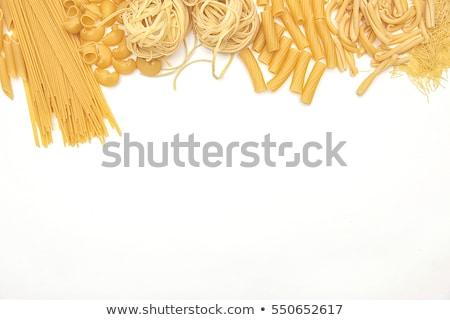 makarna · buğday · spagetti · sağlıklı · kabukları - stok fotoğraf © neillangan