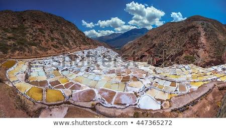 Salinas in Peru Stock photo © Hofmeester