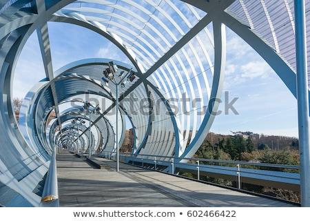 моста · Мадрид · Рио · парка · Испания · 2012 - Сток-фото © pixachi