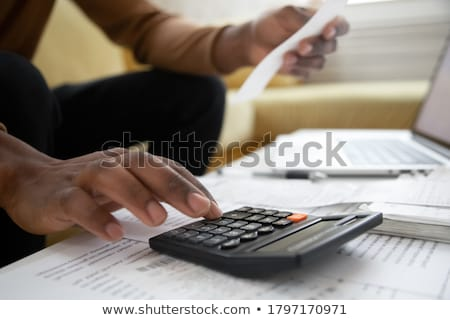 Calculator with money - Insurance Stock photo © Zerbor