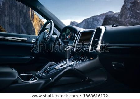Veículo interior carros viajar ponte Foto stock © tracer