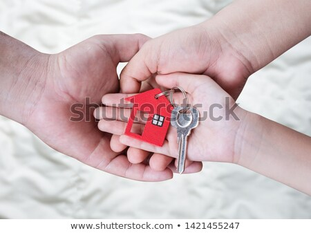 Kindness Concept. Keys with Keyring. Stock photo © tashatuvango