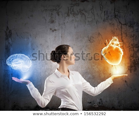 直感 女性実業家 作業 pc オフィス インターネット ストックフォト © alphaspirit