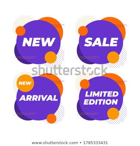 Limited Violet Vector Icon Design Stock photo © rizwanali3d