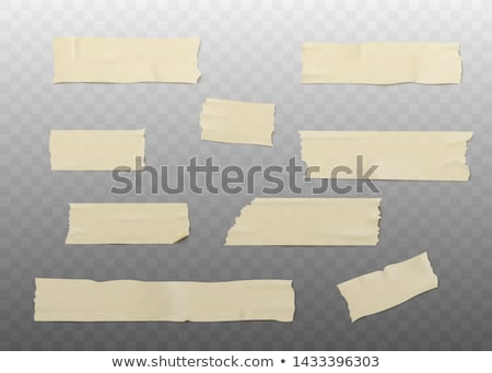 Realistic illustration of adhesive tape Stock photo © smeagorl