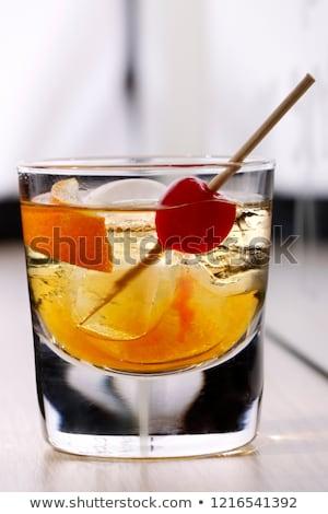 Alcoholic Cocktail Godmother Stock photo © netkov1