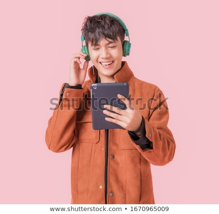 happy boy with headphones stock photo © Paha_L
