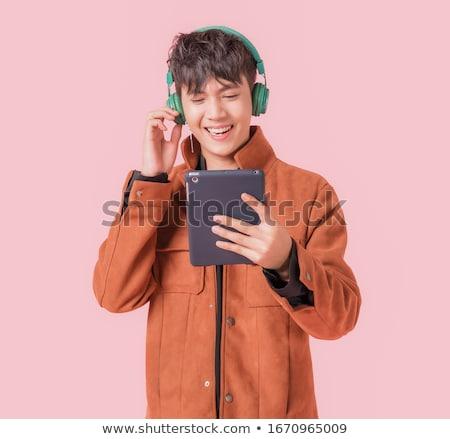 happy boy with headphones stock photo © Paha_L