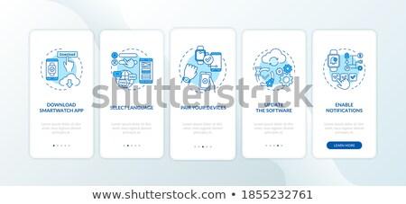 Five pairs of slides stock photo © Paha_L