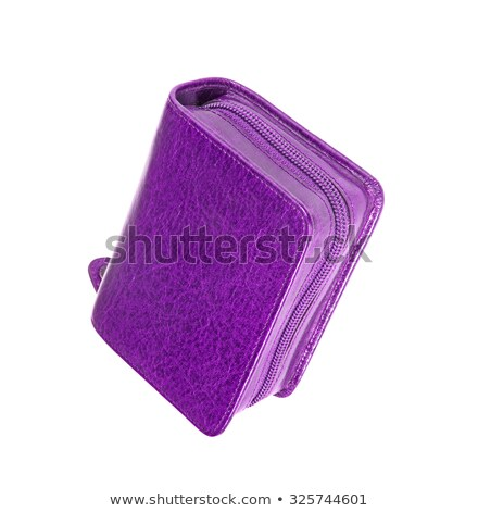 Used violet pencil holder case Stock photo © shutswis