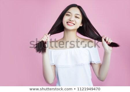Girl with love on her mind Stock photo © Dazdraperma